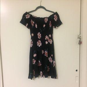 Pacsun off-the-shoulder floral dress